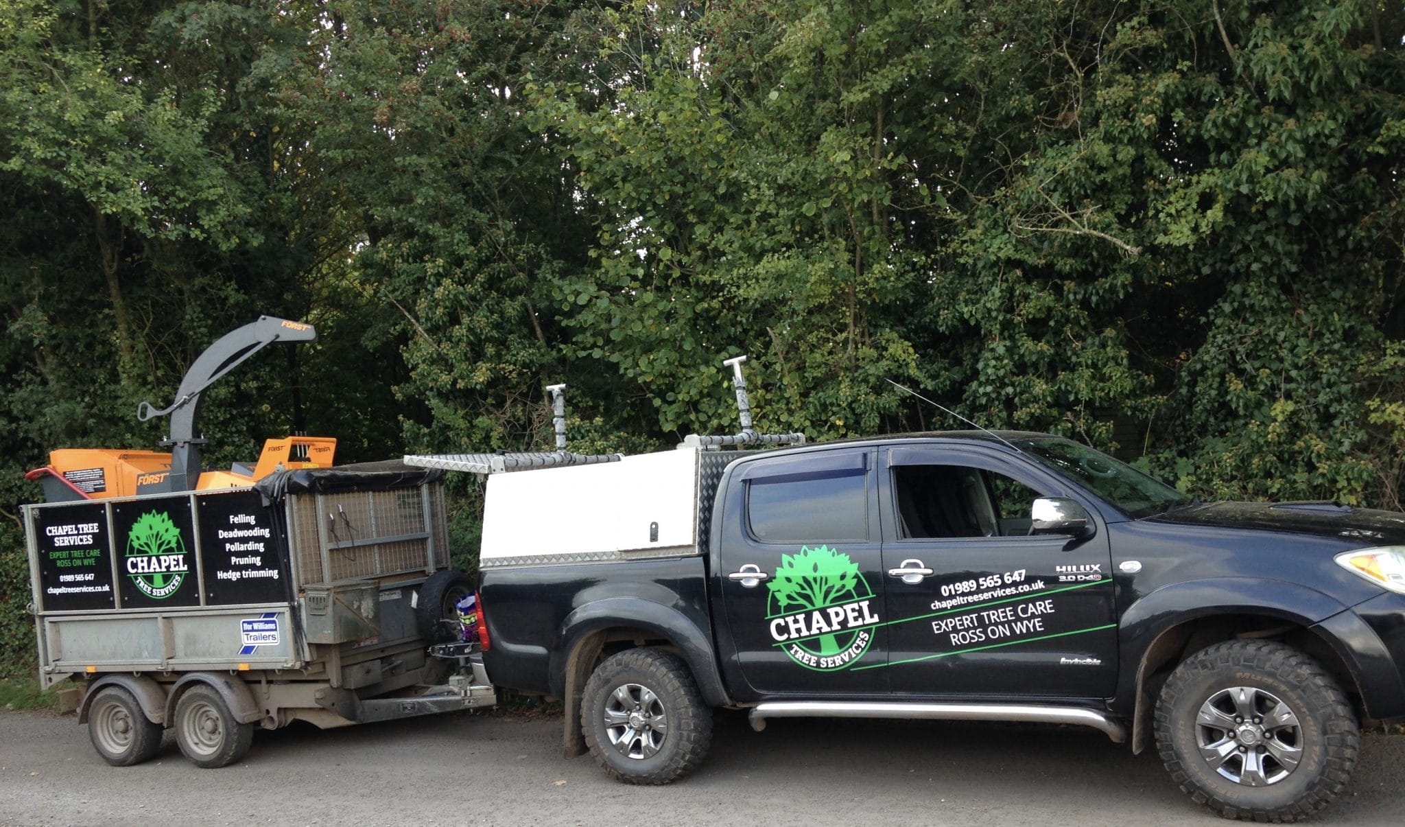 Chapel Tree Services vehicle
