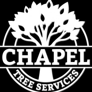 Chapel Tree Services Black and White Logo