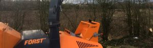 Forst wood chipper machine